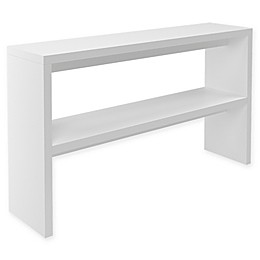 Midtown Concept™ Mid-Century Console Table in White