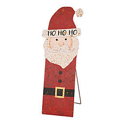 Glitzhome Santa 35.98-Inch Indoor/Outdoor Christmas Decoration in Red