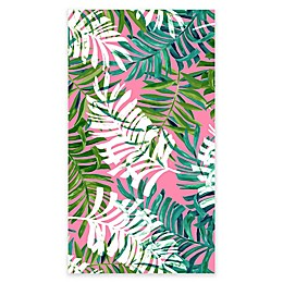 Destination Summer Tropical Leaves Beach Towel