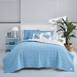 Now House by Jonathan Adler™ Marcel King Quilt Set in Bright Blue