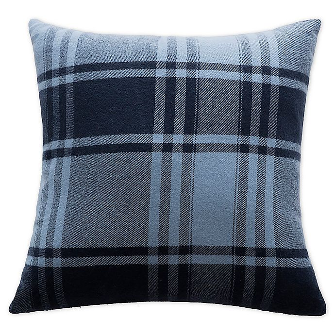 Alternate image 1 for Boston Traders® Vanilla Ice Reversible Throw Pillow in Navy