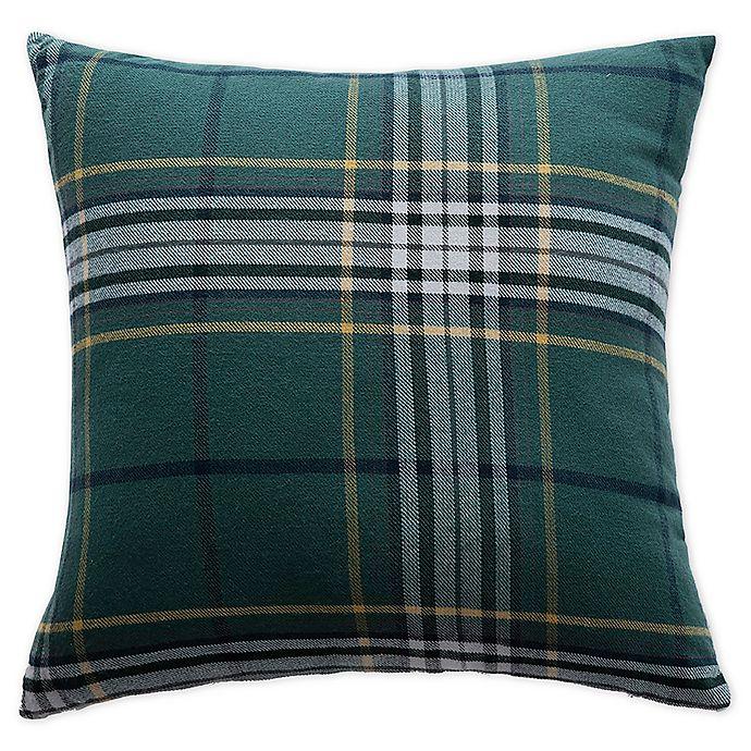 Alternate image 1 for Boston Traders® Providence Reversible Throw Pillow in Green
