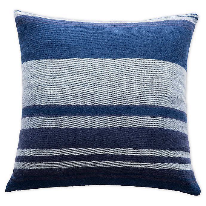 Alternate image 1 for Boston Traders® Leo Reversible Throw Pillow in Blue/Grey
