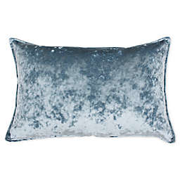 Thro by Marlo Lorenz Ibenz Ice Velvet Oblong Throw Pillow in Arona