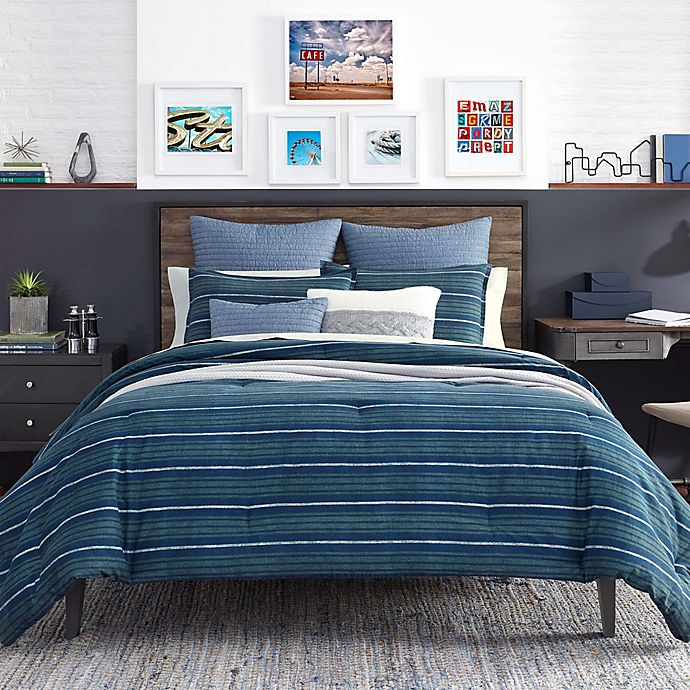 Alternate image 1 for Nautica® Claridge 3-Piece Reversible Duvet Cover Set