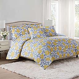 Isaac Mizrahi Home Jasmine 3-Piece Comforter Set