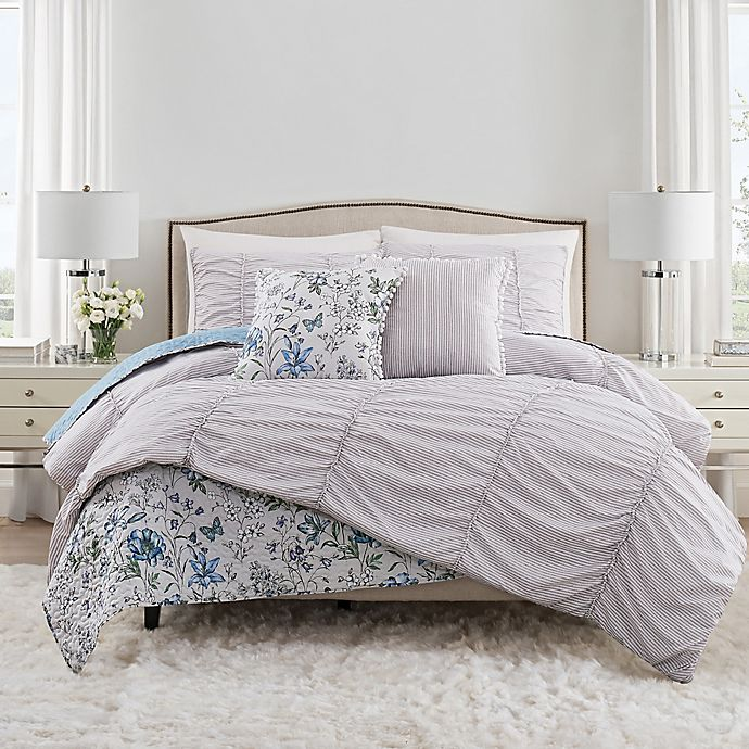 Alternate image 1 for Isaac Mizrahi Home Polly 3-Piece Comforter Set