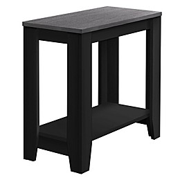 Monarch Specialties Accent Table in Black