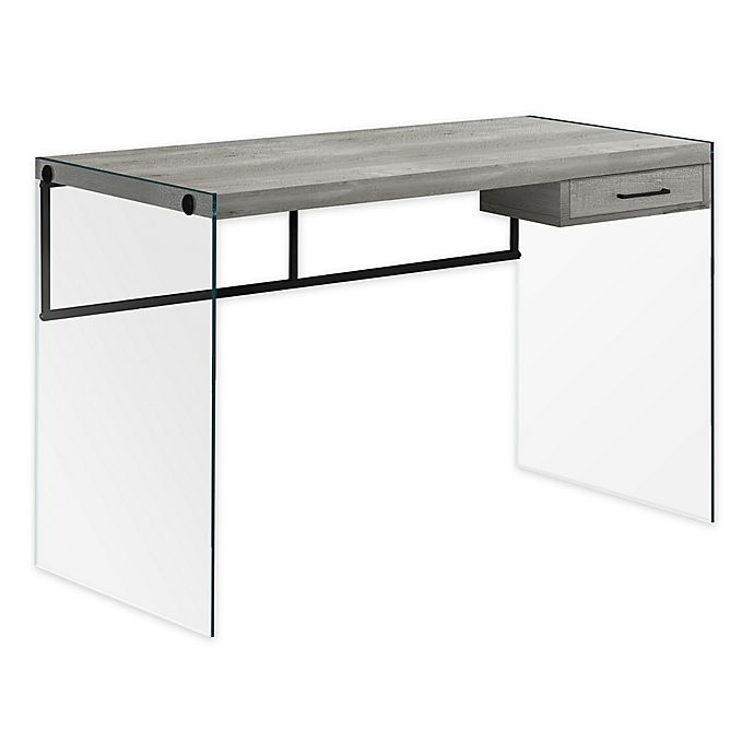 Alternate image 1 for Monarch Specialties 1-Drawer Computer Desk