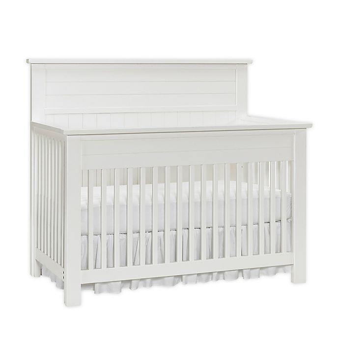 Alternate image 1 for Bel Amore® Channing 4-in-1 Convertible Crib in Snow White
