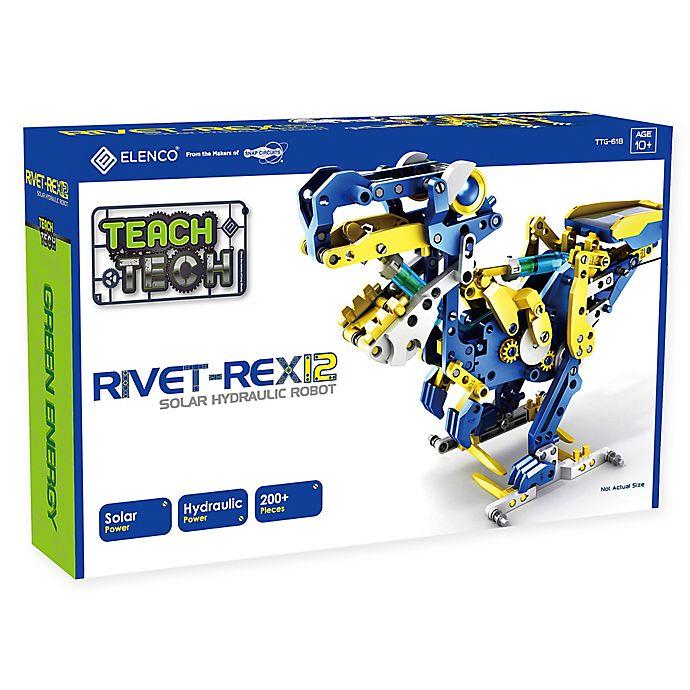 Alternate image 1 for Rivet-Rex 12 Hydro-Mechanical Solar Robot Kit