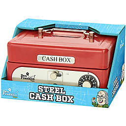Ben Franklin Toys Steel Cash Box