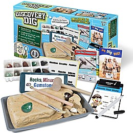 Ben Franklin Toys Discovery Rock & Gem Dig Set