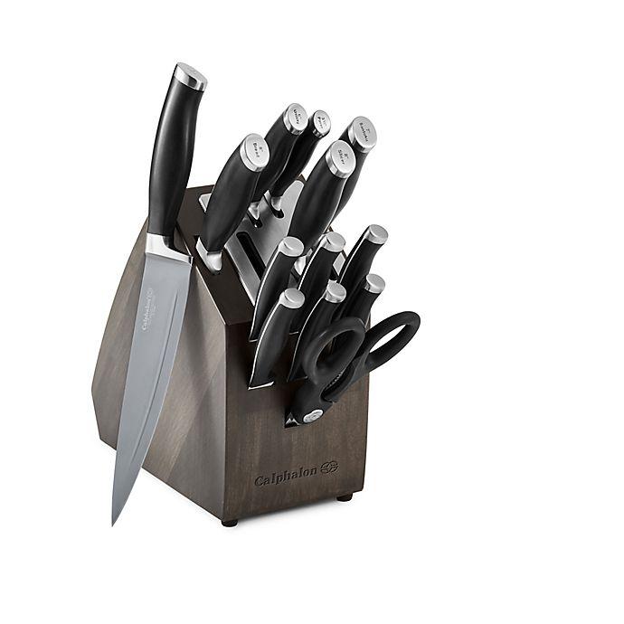 Alternate image 1 for Calphalon® Contemporary SharpIn™ Nonstick 14-Piece Knife Block Set