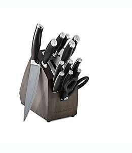 Set de cuchillos antiadherentes con base, Contemporary SharpIn™ Calphalon® 14 piezas