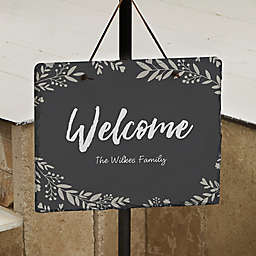 Cozy Home Personalized Slate Plaque