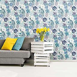 Roommates® Perennial Blooms Vinyl Peel & Stick Wallpaper