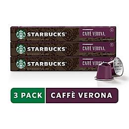 Starbucks® by Nespresso® Caffè Verona Espresso 30-Count Capsules