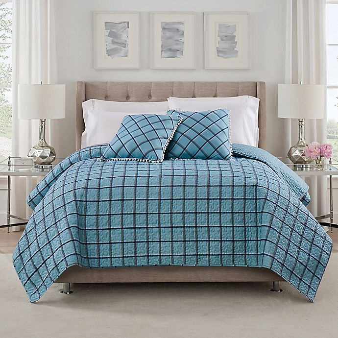 Alternate image 1 for Isaac Mizrahi Home Taylor Coverlet