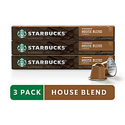 Starbucks® by Nespresso® House Blend Coffee 30-Count Capsules