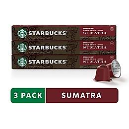 Starbucks® by Nespresso® Sumatra Espresso 30-Count Capsules