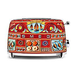 SMEG Dolce & Gabbana 2-Slice Multicolor Toaster