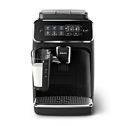 Philips 3200 Series Espresso Machine with LatteGo in Black