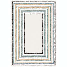 Marmalade™ Wren 5' x 7' Hand Tufted Area Rug with Rainbow Border