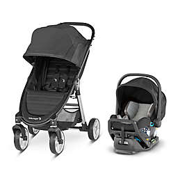 Baby Jogger City Mini 2 4-Wheel Travel System  in Jet