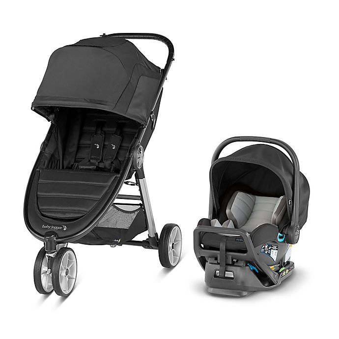 Alternate image 1 for Baby Jogger City Mini 2 Travel System in Jet