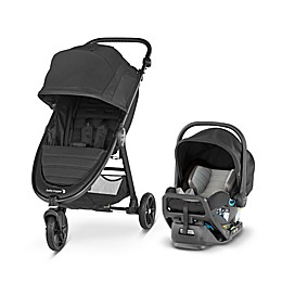 Baby Jogger City Mini GT2 Travel System in Jet