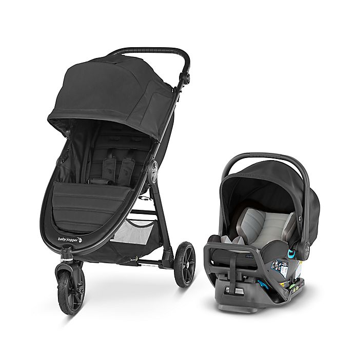 Alternate image 1 for Baby Jogger City Mini GT2 Travel System in Jet