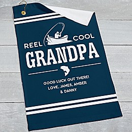 Reel Cool Personalized Fishing Towel