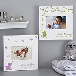 Baby Zoo Animal Personalized Box Picture Frame
