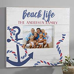 Beach Life Personalized Wall Frame- Horizontal