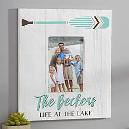 Beach Life Personalized Wall Frame- Vertical