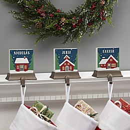 Nordic Noel Personalized Stocking Holder