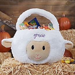Lamb Embroidered Halloween Treat Bag
