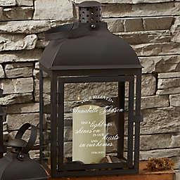 Memorial Light Personalized Candle Lantern 3 Piece Set