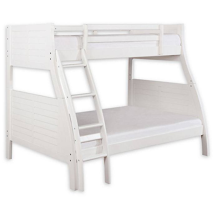 Alternate image 1 for Powell Presidio Twin/Full Bunk Bed in White