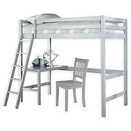 Hillsdale Caspian Twin Study Loft Bed