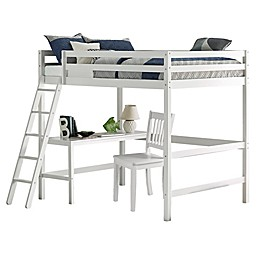 Hillsdale Furniture Caspian Full Loft Bed with Chair