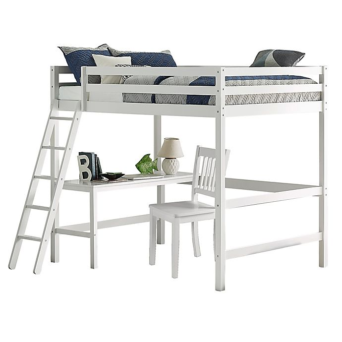 Alternate image 1 for Hillsdale Furniture Caspian Full Loft Bed with Chair