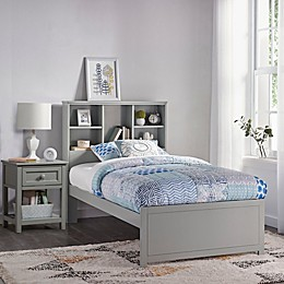 Hillsdale Caspian Twin Bookcase Bed with Night Stand
