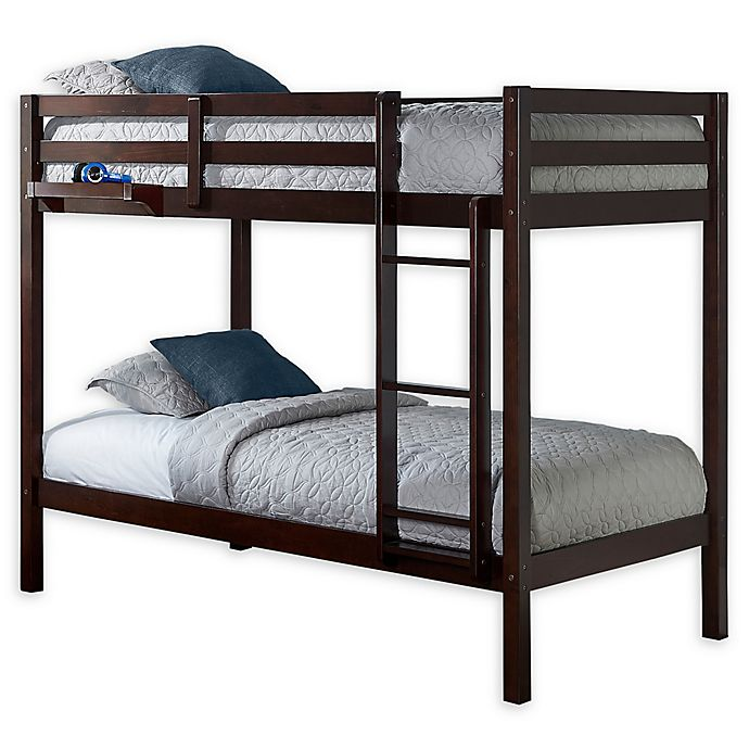 Alternate image 1 for Hillsdale Caspian Twin Bunk Bed with Hanging Nightstand