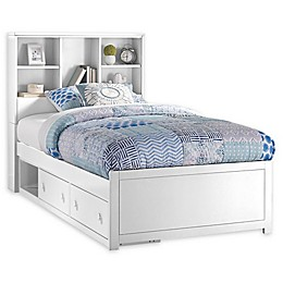 Hillsdale Caspian Twin Bookcase Bed with Storage