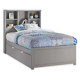 Hillsdale Caspian Twin Bookcase Bed with Trundle