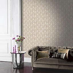 Arthouse Glam Feather Non-Woven Wallpaper
