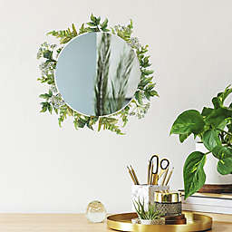RoomMates® Fern Peel & Stick Decals with Circle Mirror