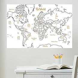 WallPops!® Glam Dry-Erase Map